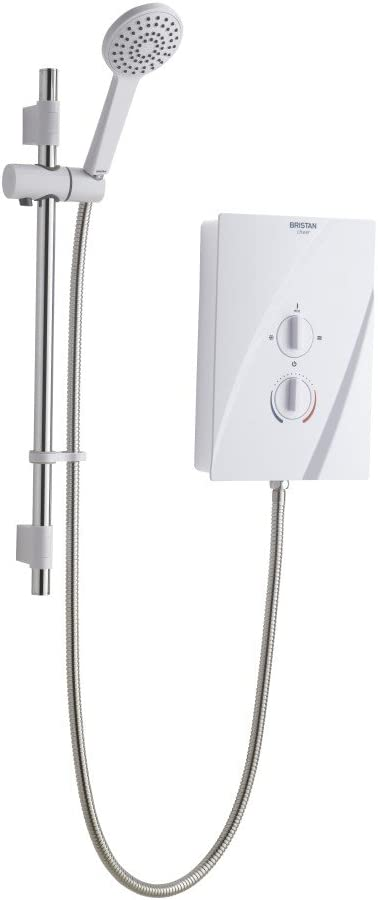 Bristan CHE95 W 9.5 kW Cheer Electric Shower - White