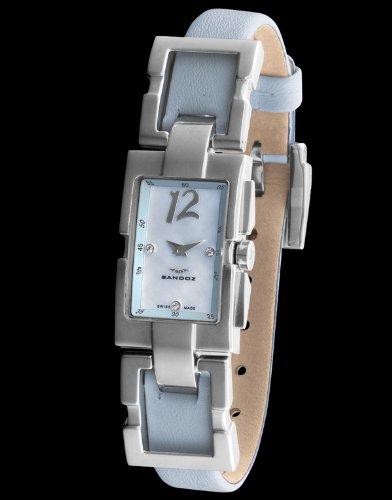 Sandoz 73502-03 - Reloj Col. Diver Unisex Rectángular azul: Amazon.es: Relojes