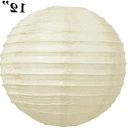Mikash 24 Pack 12 Paper Lanterns Lamp Shades Wedding Party Decorations Wholesale | Model WDDNGDCRTN - 11901 |
