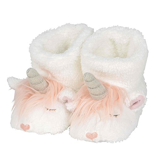 "Department 56 Snowpinions ""Unicorn Slippers, Child Size Medium 9-10, Multicolor by Department 56"