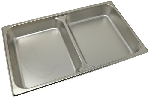 Winco SPFD2 2-1/2-Inch Divider Food Pan, Full Size -