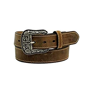 ARIAT Women's Basic Stitch Edged Belt