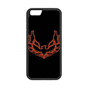 iPhone 6 Plus 5.5 Inch Phone Case Covers Black THUMBS UP BIRD QSM Cell Phone Case Hard Durable