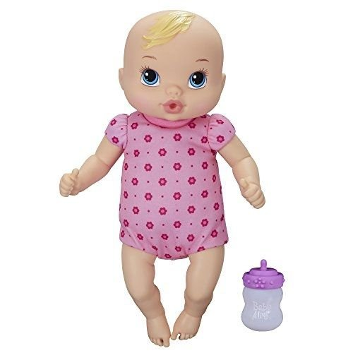 1 ++ ++ Baby Alive Luv 'n Snuggle Baby Doll Blond / Little girls can have the love and fun of real babies with this Luv 'n Snuggle Baby doll! (Ponderosa Barbecue)