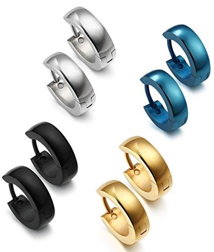 Jstyle Jewelry Stainless Earrings Piercings