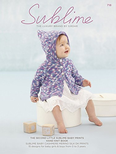 Sublime The Second Little Baby Prints Hand Knit Book 718 Knitting