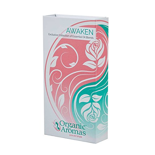 The Elements Premium Essential Oil Blends Collection Awaken (Feminine 5) by Organic Aromas