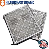 FiltersFast Compatible Replacement for Trane 24'' x 26'' x 5'' (Actual Size: 24.1'' x 26 1/4'' x 5'') Perfect Fit Filter BAYFTFR24M MERV 13 2-Pack