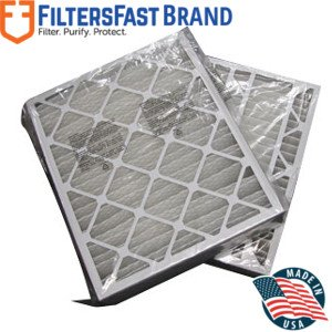 FiltersFast Compatible Replacement for Trane 24'' x 26'' x 5'' (Actual Size: 24.1'' x 26 1/4'' x 5'') Perfect Fit Filter BAYFTFR24M MERV 13 2-Pack by Filters Fast