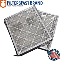 FiltersFast Compatible Replacement for Trane 24 x 26 x 5 (Actual Size: 24.1 x 26 1/4 x 5) Perfect Fit Filter BAYFTFR24M MERV 13 2-Pack