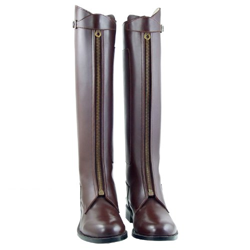 Amazon.com: Hispar Man Men Mens Invader-1 Polo Boots Horseback ...