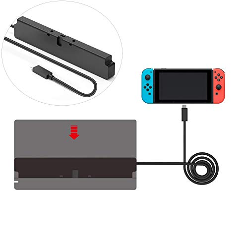 Extension Cable for Nintendo Switch Dock Set (2ft) ()