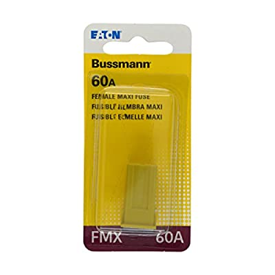 Bussmann (BP/FMX-60-RP) Yellow 60 Amp Female Maxi Fuse: Automotive