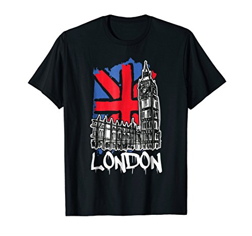 (Vintage London England Westminster Palace Big Ben T-Shirt)