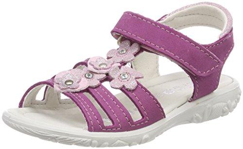 Ricosta Mädchen Chica Offene Sandalen Pink (Candy)