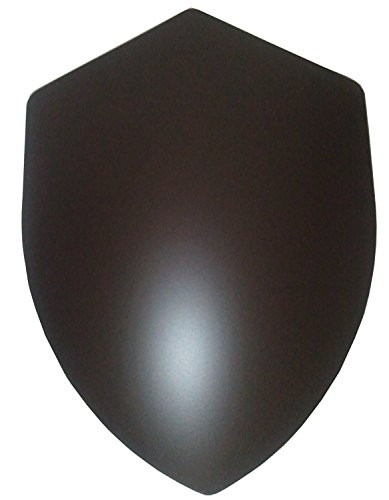 Price comparison product image Four Point Shield Blank - 16 Gauge Steel Battle Ready - Natural - One Size