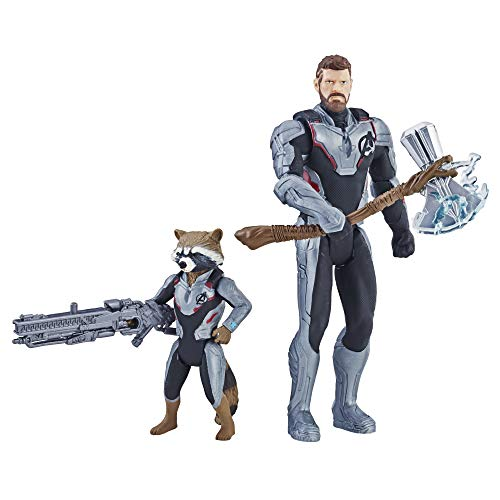 Avengers Marvel Endgame Thor & Rocket Raccoon 2 Pack Characters from Marvel Cinematic Universe Mcu Movies
