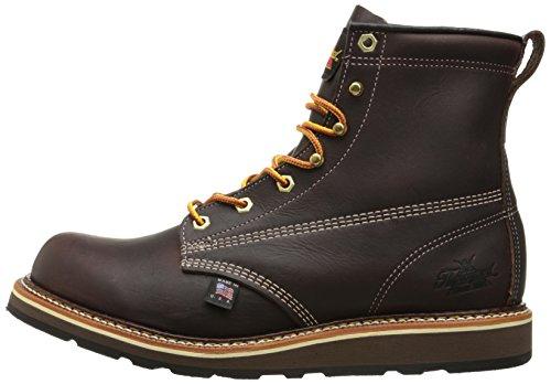 Thorogood American Heritage 6'' Plain Toe Rubber Boot, Walnut, 9.5 D US by Thorogood (Image #5)