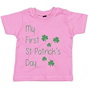 myog© Baby T Shirt - Mi primer día de San Patricks Day ...
