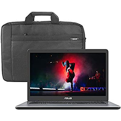 ASUS VivoBook X705MA 17 3 Inch HD  Laptop  Intel Celeron N4000  Hard Drive  RAM  Windows with Carry Bag