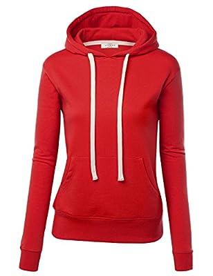 LL Womens Active Fleece Long Sleeve Pullover Hoodie