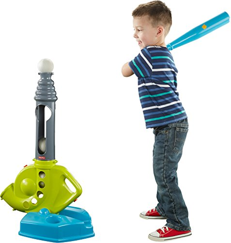 Fisher-Price Grow-to-Pro Triple Hit Baseball (T Ball)