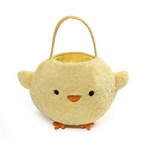 Chick Easter Basket - GUND Baby Chick Easter Basket Stuffed Animal Plush, Yellow, 7