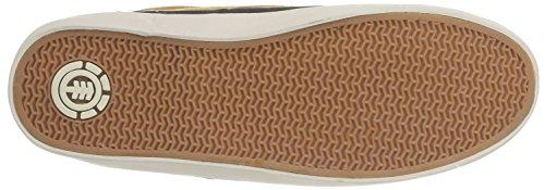 Element PRESTON B - zapatilla deportiva de cuero hombre Beige (Timber Buckthorn)