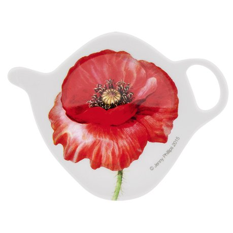 POPPIES 90595 Tea Bag Holder, Small ()