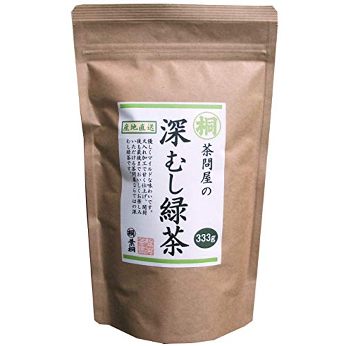 (深むし緑茶 Japanese Pure Green Tea (333g/11.74oz) Sen-Cha Ryoku-Cha Extra Volume & Special Price japanese green tea from Shizuoka Japan with a tracking number)