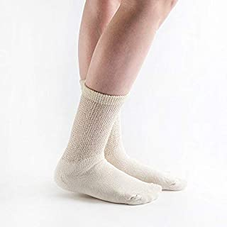 product image for Doc Ortho Loose Fit Diabetic Socks, 12 Pairs, Crew
