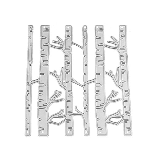 Balloon Butterfly Birch Trees Fish Spider Scrapbooking Die Cuts Carbon Steel Stencil Metal Album Card Paper Craft Decoration DIY Template by Einfachheit (1)