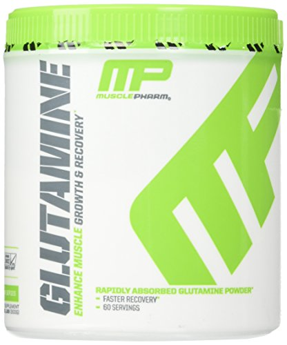 MusclePharm 100% Pure Glutamine Powder, Muscle Growth and Recovery, 300g