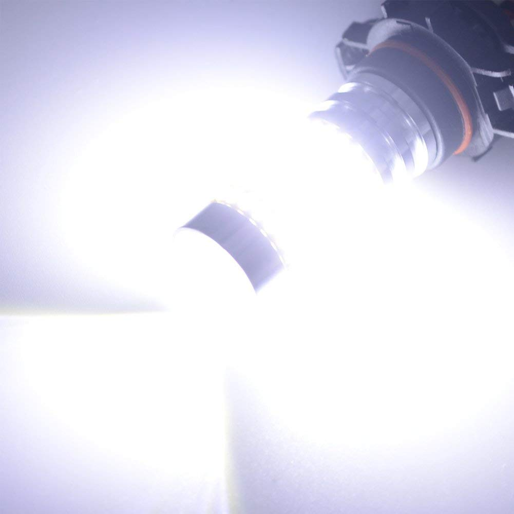 T10 194 Led Car Bulb Safego 2pcs W5W 194 168 2825 Wedge LED Car Interior Light Bulb License Plate Light Trunk Light 3-3014SMD Bright White 6500K DC 12V T10-ST-3D-3014-2