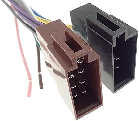 Cavo Adattatore Radio Cavo Di Collegamento Cablaggio ISO JVC 16pin KD-LX KD-SX KD-SH