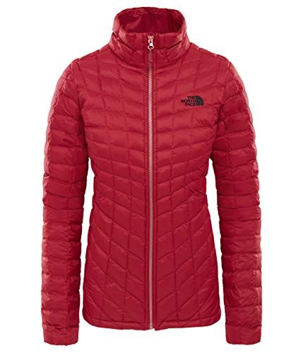 The North Face W Thermoball Fz Jkt Rumba Red XS