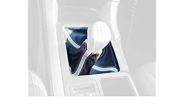 Amazon.com: RedlineGoods STI (6 marchas) bota/funda para palanca de cambios Compatible con Pontiac GTO 2004-06. Cuero Negro PERFORADO Costura Plata: ...