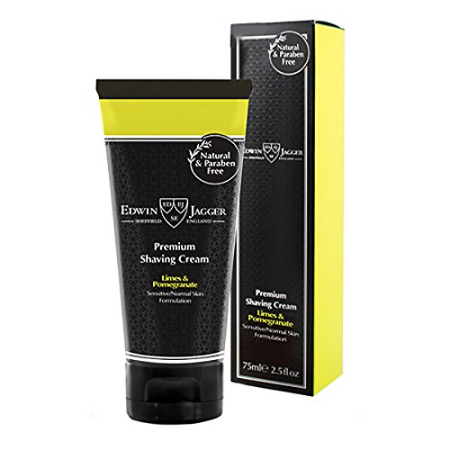 - Edwin Jagger Lime Pomegranate Premium Shaving Cream 2.5oz shave cream by Edwin Jagger