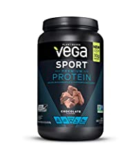 Help rebuild muscle with 30 grams of multi-source protein from pea, alfalfa, pumpkin seed, and organic sunflower seeds. Vega Sport Premium Protein is always made with real, plant-based food ingredients with purpose – like tart cherry for rec...