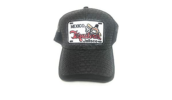 Gorra Federal Jalisco. Los TEQUILEROS DE Jalisco. Black at Amazon Mens Clothing store: