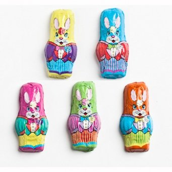 Premium Solid Madelaine Milk Chocolate Easter Mini Bunnies (1 Lb - 52 Pcs) (Easter Bunny Chocolate compare prices)