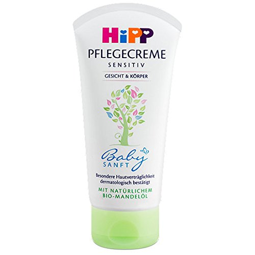 Hipp Intensive Care Cream for Face and Body with Bio Almond Extract - 75 Ml.