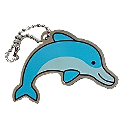 /11043 /Travel Tag/ One Size Geo Shipping Daphne the Dolphin/ Multi
