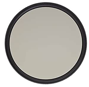 Heliopan 72mm Circular Polarizer SH-PMC Filter (707246) with specialty Schott glass in floating brass ring