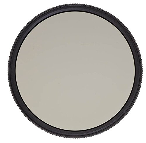 Heliopan 49mm High Transmission Circular Polarizer SH-PMC Filter (704961) with specialty Schott glass in floating brass ring
