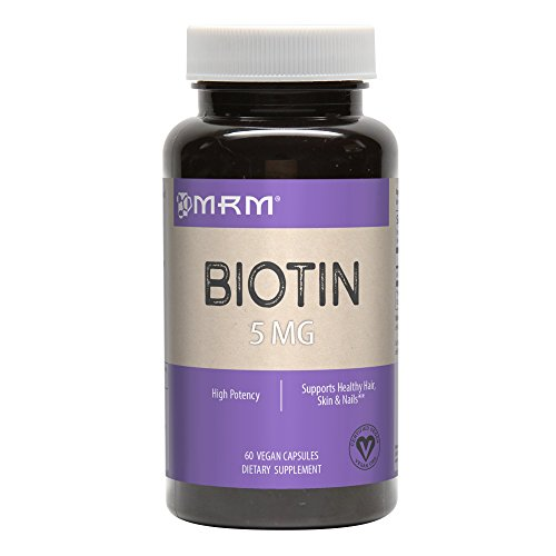 Biotin 5mg High Potency (A Water Soluble B Vitamin)