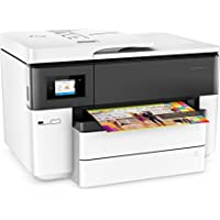 HP OfficeJet Pro 7740 Wide Format All-in-One Printer with Mobile Printing, in White (Certified Refurbished)