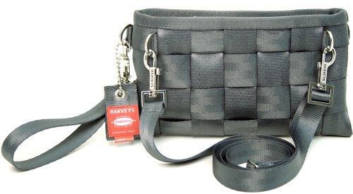 Harveys Hipster Original Seatbelt Bag Unique Purse Wristlet Bags Style (Storm)