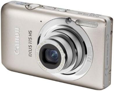Canon Ixus 115 Hs Digitalkamera 3 Zoll Silber Kamera