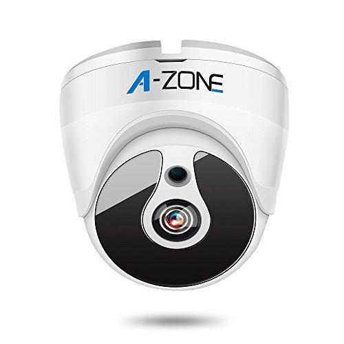 A-ZONE 1080P HD-TVI Dome Security Camera IR Night Vision 2MP